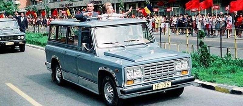 ANAF a luat 189.180 de lei pe masina ARO care i-a apartinut lui Ceausescu