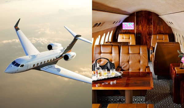 Ce mai cumpara bogatii lumii in pandemie: A explodat cererea pentru avioane private
