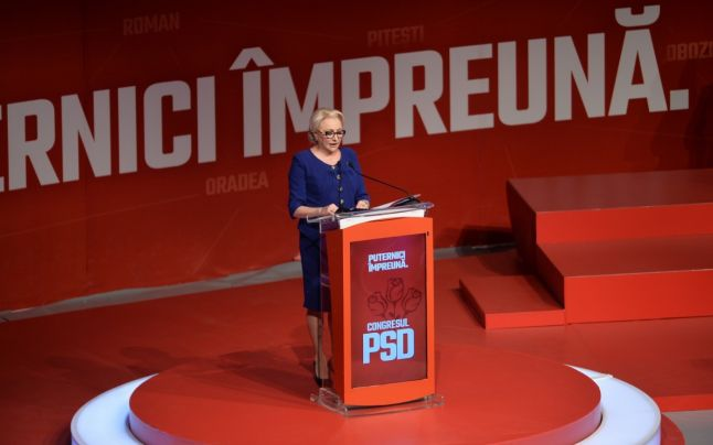 LIVE TEXT Rezultate alegeri Congres PSD: Dancila, presedinte PSD, Teodorovici, presedinte executiv, Fifor, secretar general
