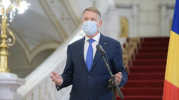 Iohannis, prima conferinta de presa din 2021. De succesul campaniei de vaccinare depinde relansarea economica