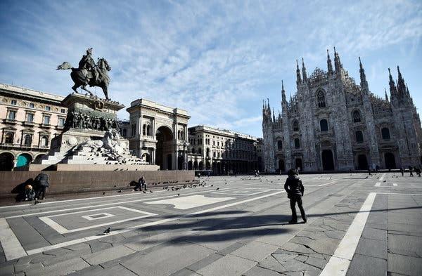 Italia suspenda plata ratelor la creditele imobiliare pentru cetateni si plata unor taxe si contributii catre bugetul de stat