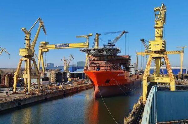 CEC Bank finanteaza cu 60 de milioane de lei santierul naval Damen Shipyards din Mangalia