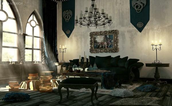Cum sa incluzi decorul gotic in casa ta, fara sa para morbid