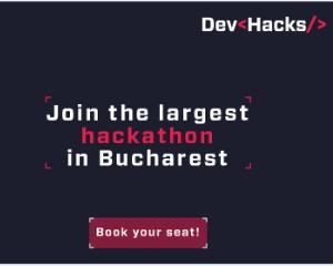 DevHacks, cel mai mare hackathon cu impact asupra societatii, revine toamna aceasta pe 27-28 octombrie