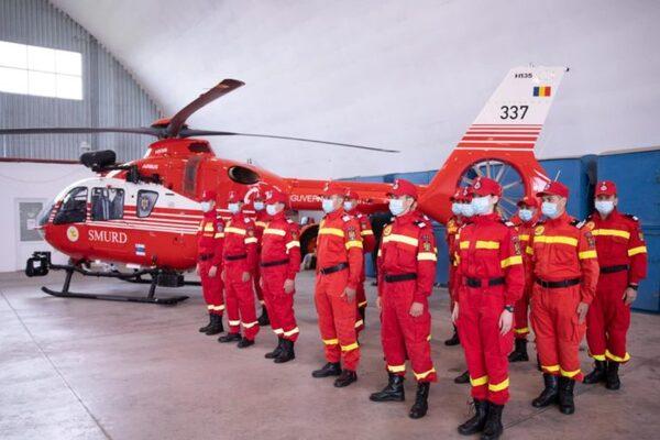 Trei noi elicoptere Airbus H135 intra in dotarea Inspectoratului General de Aviatie al MAI pentru salvarea de vieti omenesti