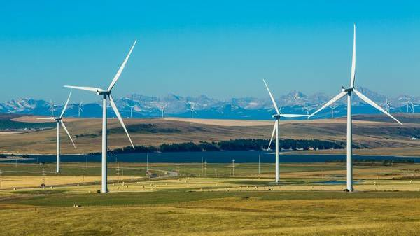 Codul galben de vant puternic produce energie verde