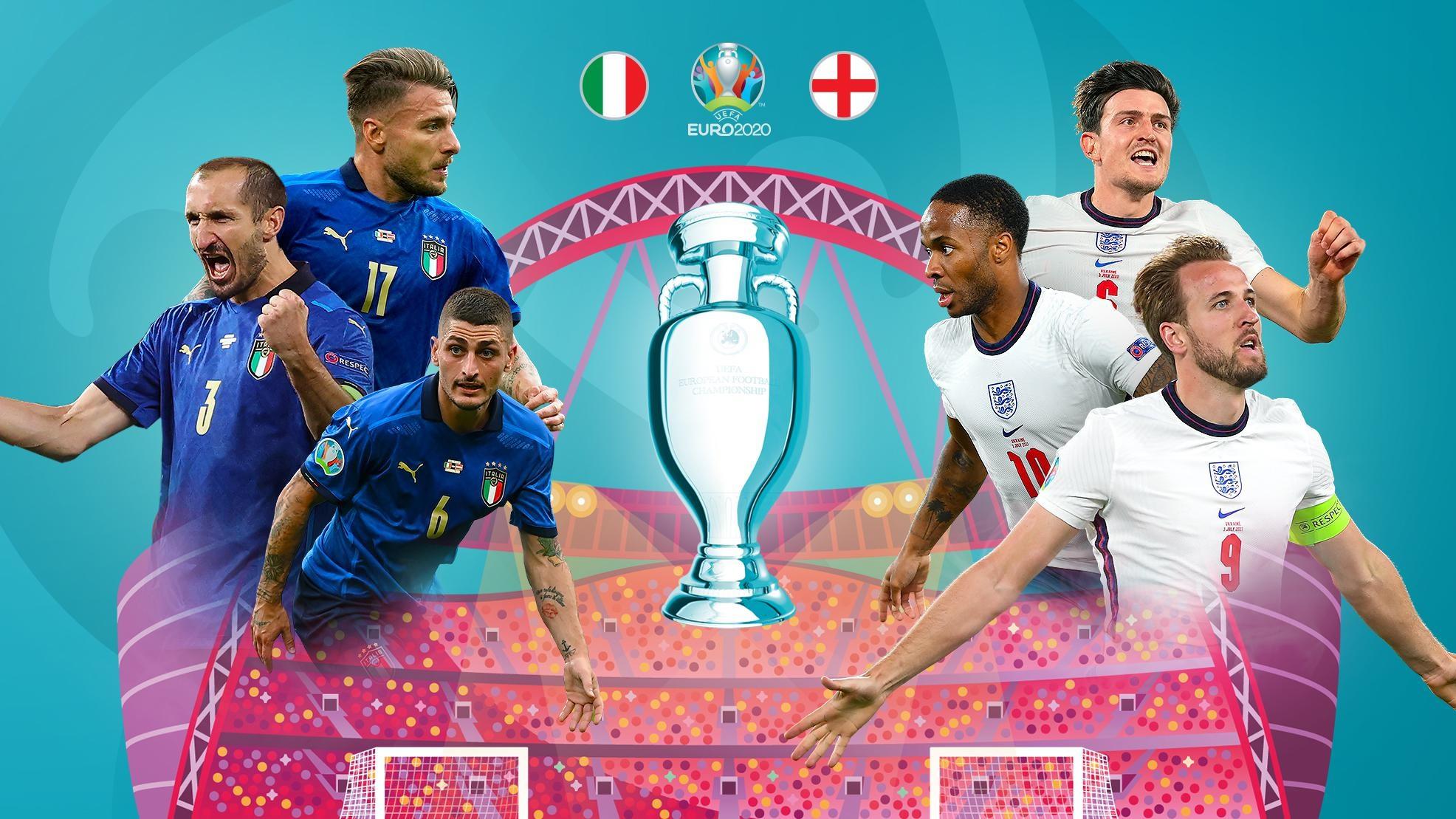 Cine va castiga finala Euro 2020 de duminica? Nu exista o favorita clara!