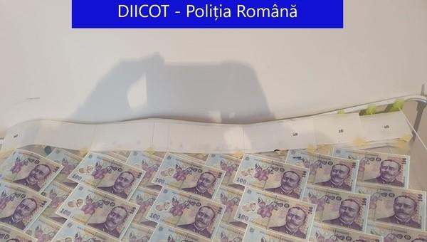 DIICOT a descoperit cele mai bune falsuri de bancnote din istoria Romaniei