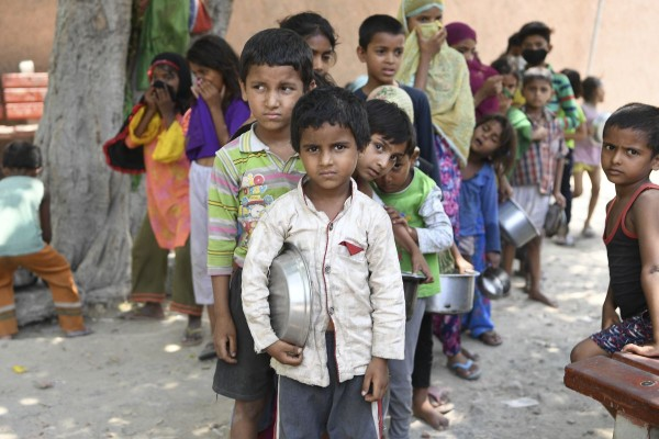 In anul pandemiei, a crescut nivelul de foamete in lume