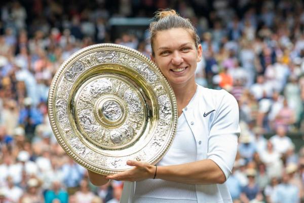 Simona Halep prezinta astazi trofeul de la Wimbledon pe Arena Nationala. Accesul este gratuit