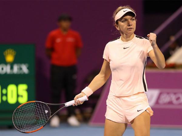 Simona Halep s-a calificat in sferturile de finala de la Qatar Open