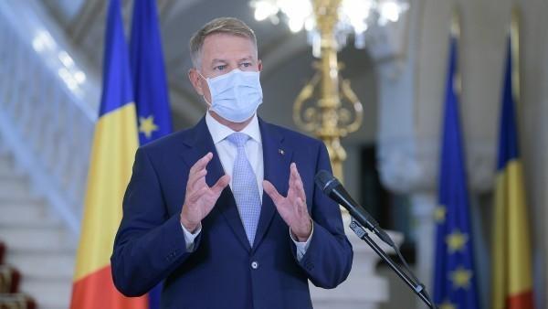 Klaus Iohannis: Romani, mergeti la vot si puneti stampila pe candidatii care vor putea aduce o schimbare in bine