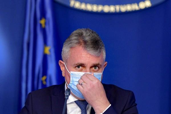 Ministrul Transporturilor are coronavirus. In ziua in care a primit diagnosticul, s-a intalnit cu ambasadorul SUA