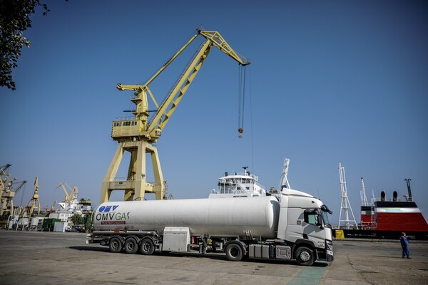 OMV Petrom a facut prima livrare de gaz natural lichefiat din Romania
