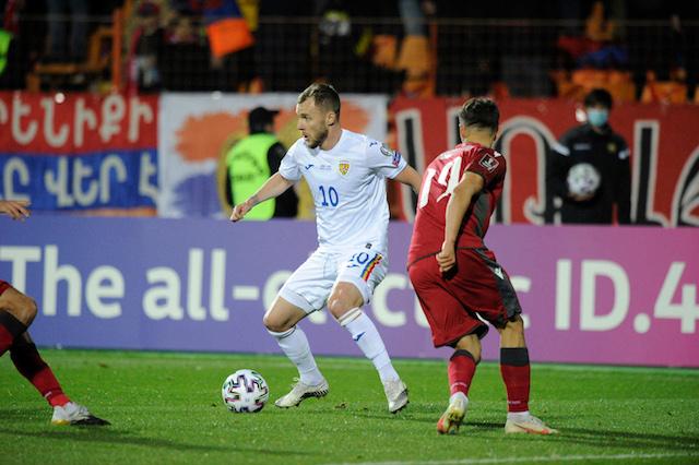 Romania pierde dramatic in Armenia si este aproape de a rata o noua calificare la Campionatul Mondial