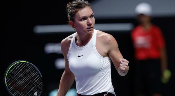Simona Halep a invins-o pe Bianca Andrescu la Turneul Campioanelor