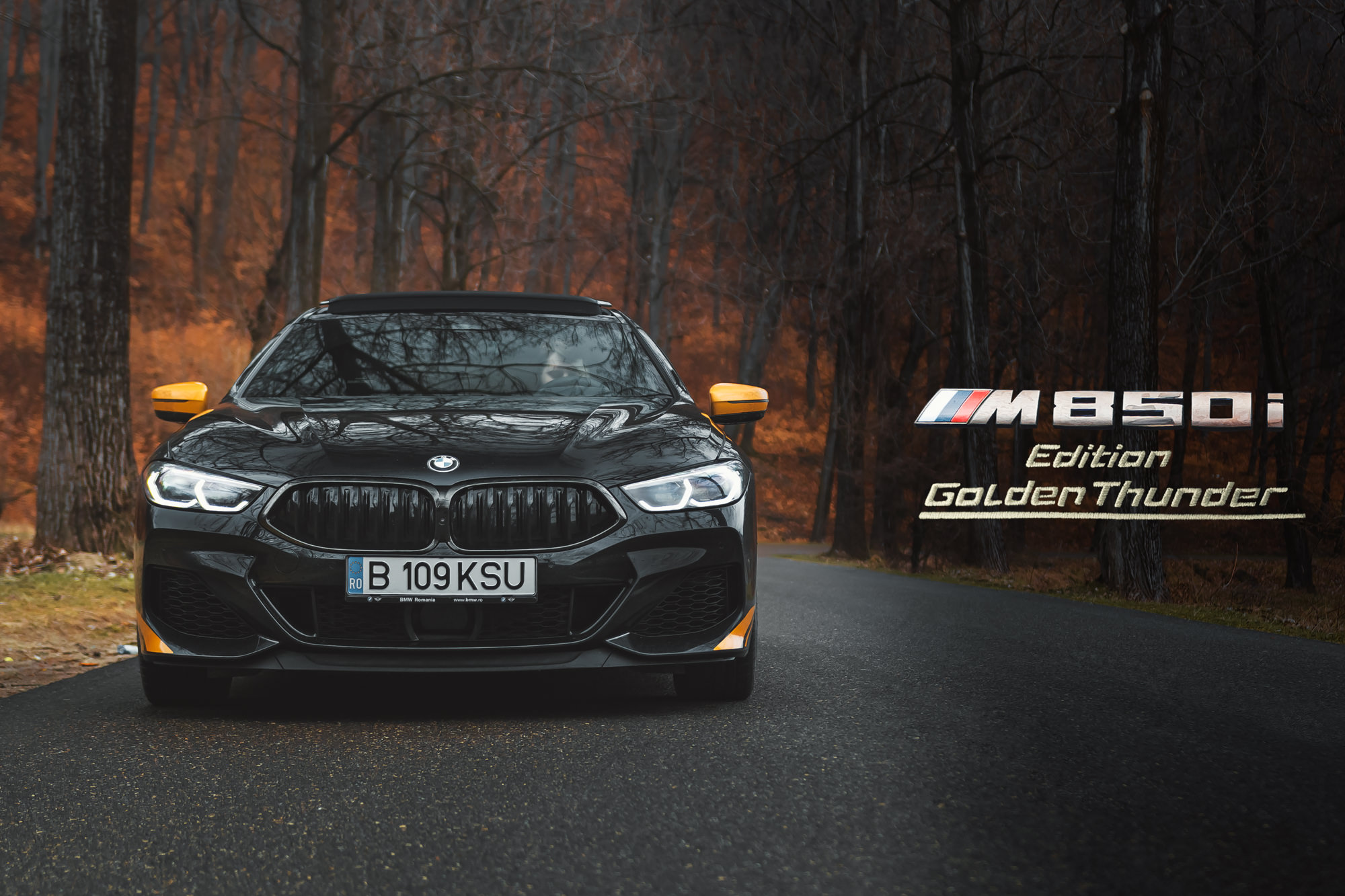 TEST DRIVE. BMW M850i xDrive Gran Coupe Golden Thunder Edition