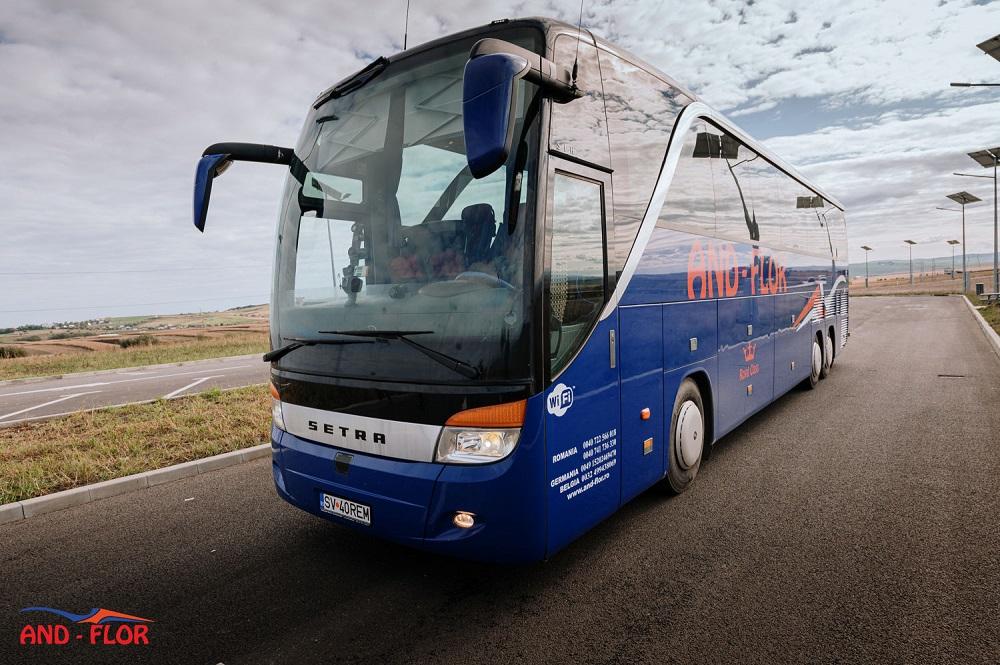 Autocarul: un mod de transport in strainatate in plina expansiune
