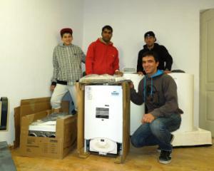 Ariston, alaturi de organizatia UPSV Romania, ajuta tinerii orfani sa se integreze in societate