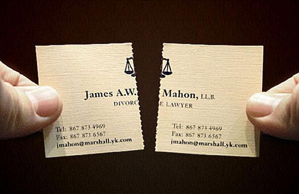 Carte de vizita avocat pentru divorturi