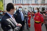 Romania ajuta Republica Moldova cu o echipa de 42 de medici si asistenti medicali si cu 500.000 de masti