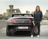 Vara asta, Simona Halep conduce o decapotabila Mercedes-AMG