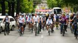 Presedintele Romaniei vrea unitate in Anul Centenarului si mai multa atentie pentru biciclisti