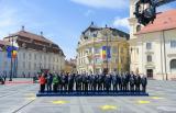Liderii europeni prezenti la Sibiu trag un semnal de alarma. Macron: Deciziile Guvernului roman au dus la slabirea statului de drept