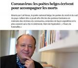 Poetii belgieni scriu poeme de ramas bun pentru cei rapusi de coronavirus
