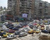 Traficul din Bucuresti  campion european la aglomeratie  Soferii sunt blocati in trafic 9 zile pe an
