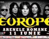 Au fost suplimentate biletele pentru concertul Europe, de la Arenele Romane