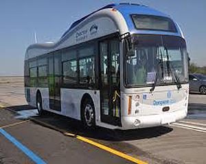 Autobuze electrice alimentate wireless
