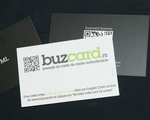 Buzcard reinventeaza cartea de vizita