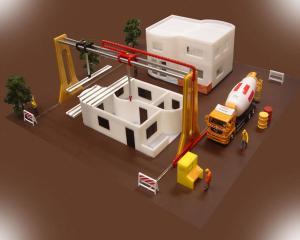 Robotul care construieste o casa in 24 de ore