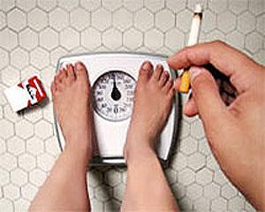 De ce se ingrasa cei care se lasa de fumat