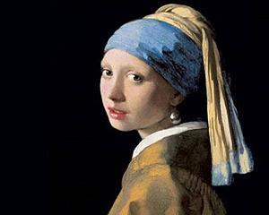 Fata cu cercel de perla face furori la Bologna