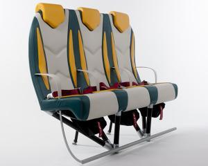 Scaunele Titanium revolutioneaza sectorul aviatiei