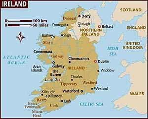 La fiecare 6 minute, un irlandez isi paraseste tara