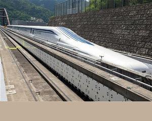 "Noul TGV japonez ""zboara"" cu 500 km/h"