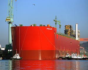Shell a lansat la apa cea mai mare nava din lume