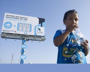 Publicitatea care transforma aerul in apa