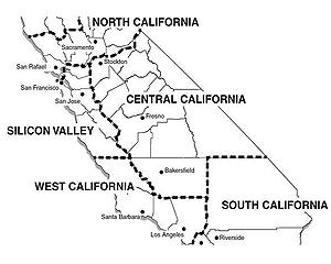 Un investitor american vrea sa divizeze California