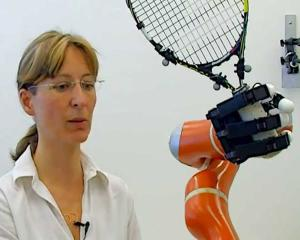 Robotul care prinde obiecte din zbor