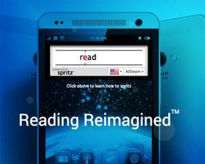 O aplicatie pentru citirea rapida pe ecranele mici