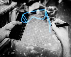 Gravity, tableta pentru desen in 3D si in realitate augmentata