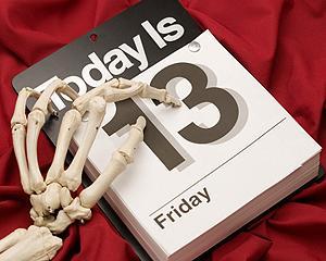 Vineri 13, o superstitie tenace