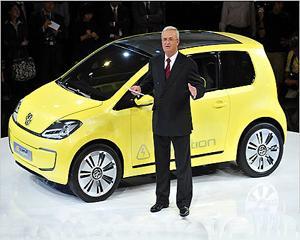 Vehicule electrice si hibride: Volkswagen lanseaza ofensiva