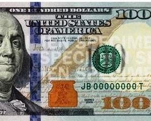 Cea mai falsificata bancnota din lume are o noua infatisare: Bancnota de 100 de dolari a devenit aproape imposibil de reprodus