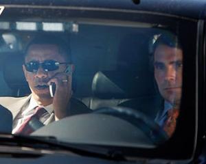 Obama risca o amenda de 120 lire sterline, dupa ce nu a achitat taxa de congestie in Londra