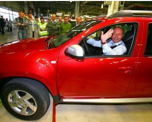 Dacia, marca auto cu cele mai multe aparitii in media